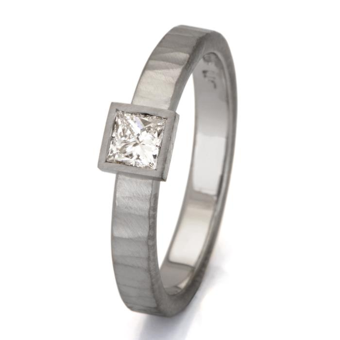 Medium Princess Cut Ring
